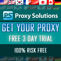Get your proxy 100% risk free!